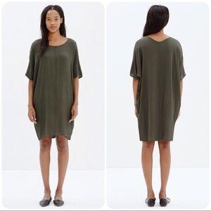Madewell Green Easy Dress S